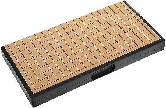 Go Set Gobang Tablero Plegable Magnético Juegos Educativos ...