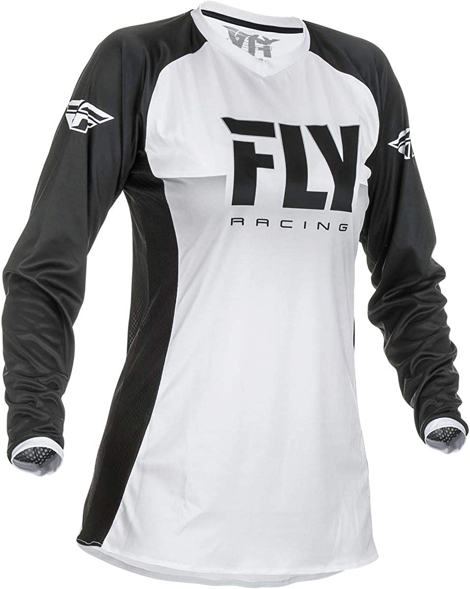 Fly Racing Girls Jersey Lite Schwarz Gr Xl Bekleidung