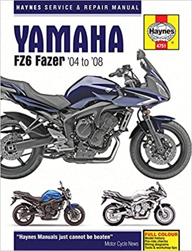 Pleasant Yamaha Fz6 Fazer 04 08 Haynes Service And Repair Manual Amazon De Wiring Database Gramgelartorg