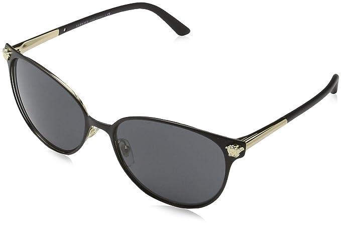 e5d6c6bc41ee Amazon.com  Versace Women s VE2168 Sunglasses 57mm  Clothing