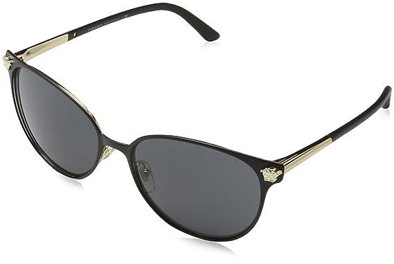 Versace 0VE2168 137787 57, Montures de Lunettes Femme, Noir (Nero)  Versace   Amazon.fr  Vêtements et accessoires b6647303a08a