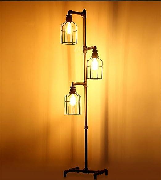 Lámparas de pie lámpara de lectura general y la luz baja de hierro ...