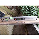 Magnetic Bubble Spirit Level Digital Angle Finder level 400mm (16 by Caterpillar Red