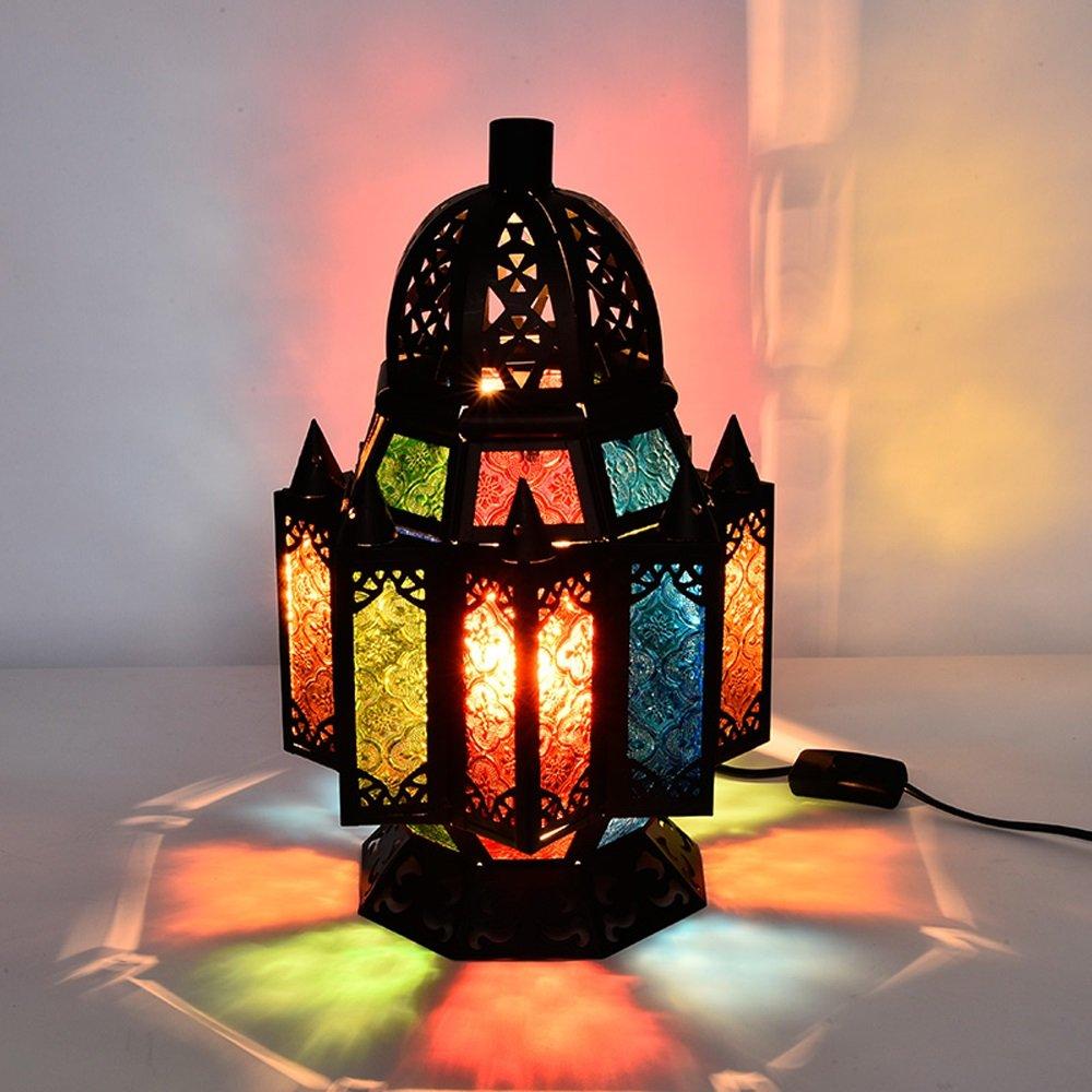 Coffee shop desk lamp retro Table Lamps European style lamp Morocco Turkey Southeast Asia Thai style lighting LU71359 by WINZSC