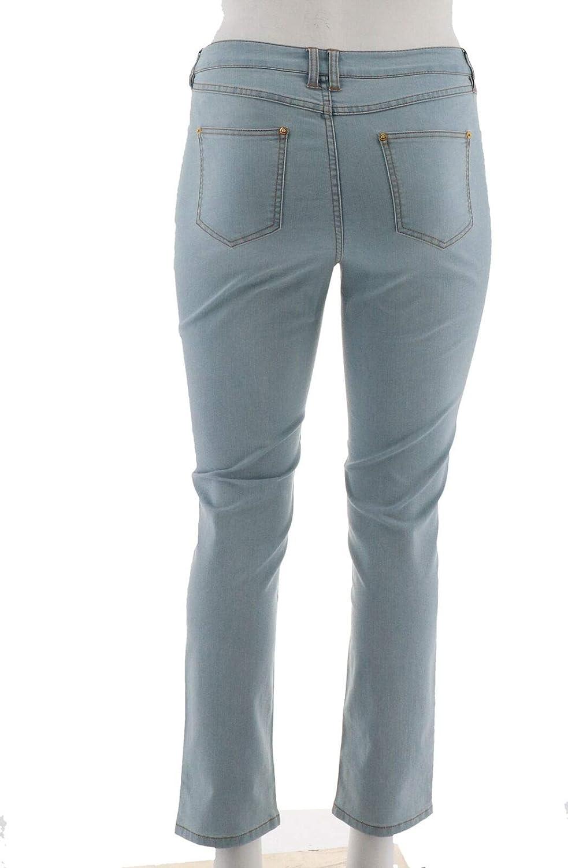 Wonder 5-Pocket Slim Leg Ankle Jeans A275089 C