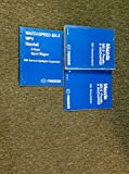 2004 Mazda MX-5 MX5 Miata Mazdaspeed Service Repair Shop Manual Set W EWD + OEM