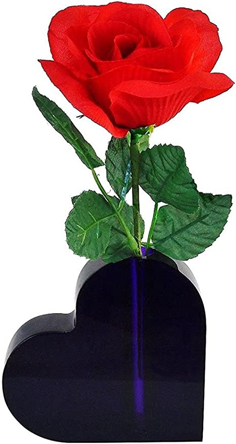 Bud Love Silverware Heart Bud Vase