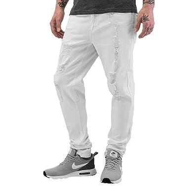 Jeansslim Destroyed Blanc Original Shine Homme W 34 31 L wqIEWt1U