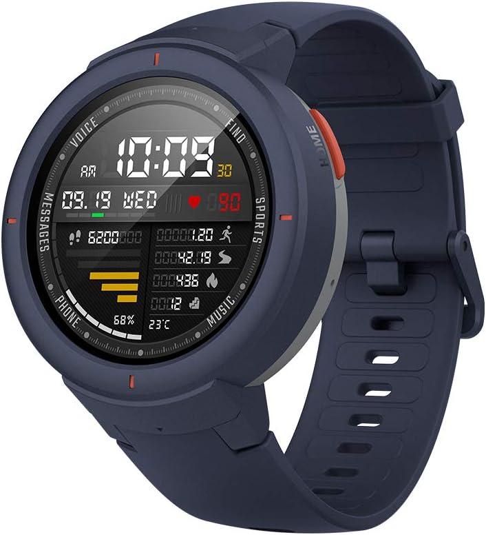 Amazfit Verge- Smartwatch Multisport con Alexa integrada, Bisel de cerámica pulida, Cristal de zafiro 2.5D, Resistente al agua hasta 50 metros, VO2 max, hasta 5 días de batería