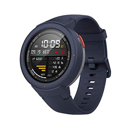 Amazfit Verge Smartwatch by Huami with GPS+ GLONASS All-Day Heart Rate and Activity Tracking, Sleep Monitoring, 5-Day Battery Life, Bluetooth, IPX68 ...