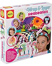 Buy 8 to get 1 least expensive items for free from Brand Alex Toys DIY Wear Wrap and Layer Headbands etc.