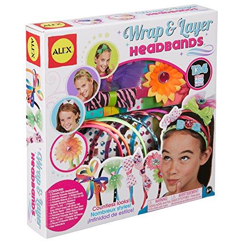 ALEX Toys DIY Wear Wrap and Layer Headbands (Alex Ribbon Headband)