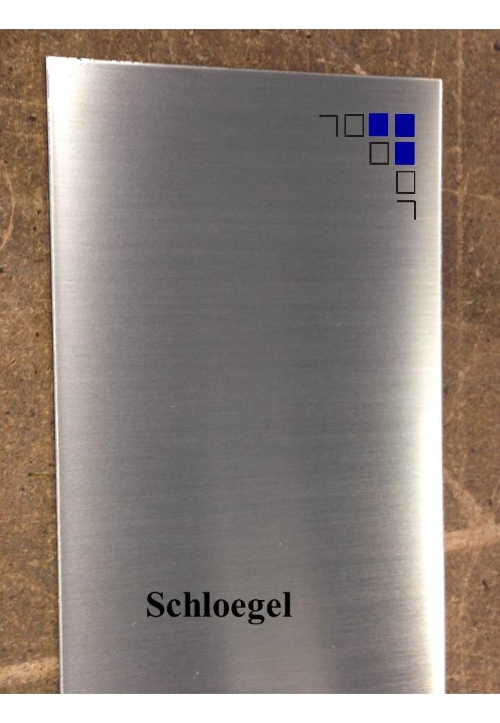 2mm Edelstahlblech eins Schutzfolie geb/ürstet 1.4301 V2A L/änge 1000//1500mm eins 50x1000mm