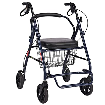 PNYGJZXQ Carro de Compras Plegable de Aluminio for Andador con ...