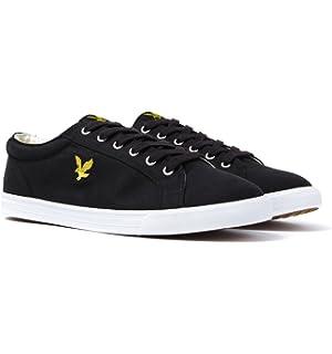 Lyle   Scott Men s Halket Canvas Low-Top Sneakers  Amazon.co.uk ... 665bbbf47