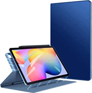 Smart Folio Case Fit Samsung Galaxy Tab S6 Lite P610 / P615 , Slim Lightweight Smart Shell Stand Cover, Strong Magnetic Adsorption with Auto Wake/Sleep - Blue
