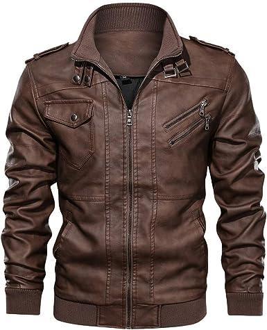 veste simili cuir pas cher pour homme