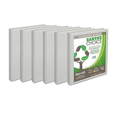 samsill earth s choice biobased presentation binder 3 ring binder