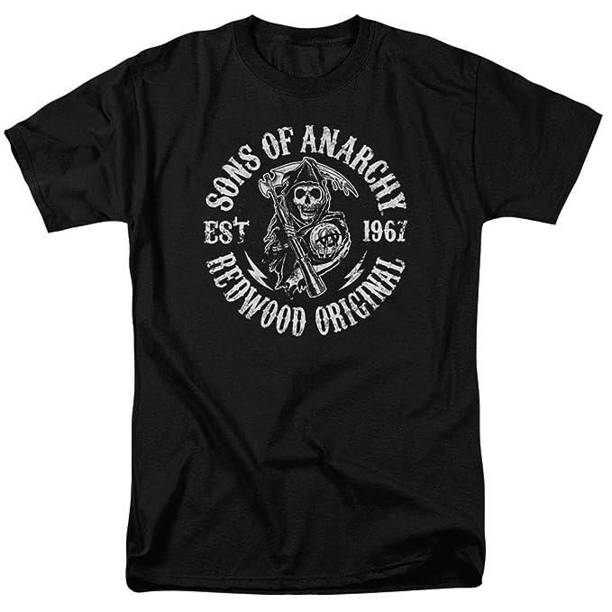 24b267ab Amazon.com: Sons of Anarchy Grim Reaper T Shirt: Clothing