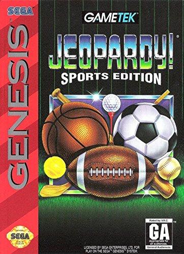 Jeopardy: Sports Edition - Sega Genesis