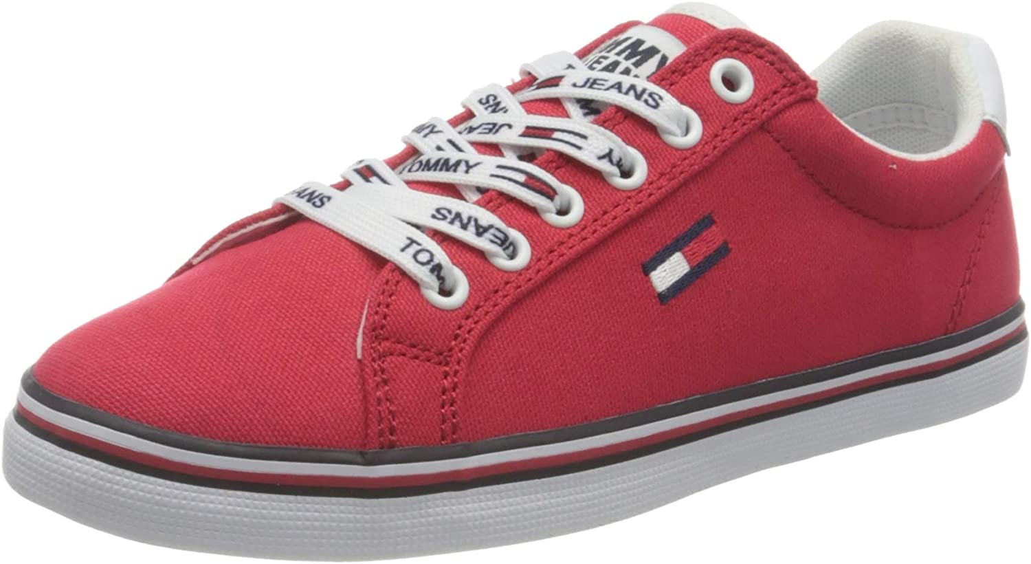 Tommy Jeans Essential Lace Up Sneaker, Zapatillas Mujer