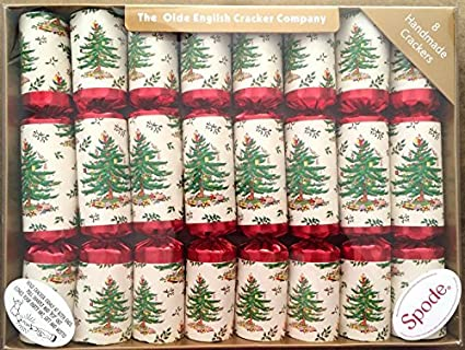 spode handmade christmas crackers set of 8 by kensington row christmas collection
