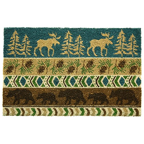 Bacova Guild Timber Ridge Printed Coir Mat