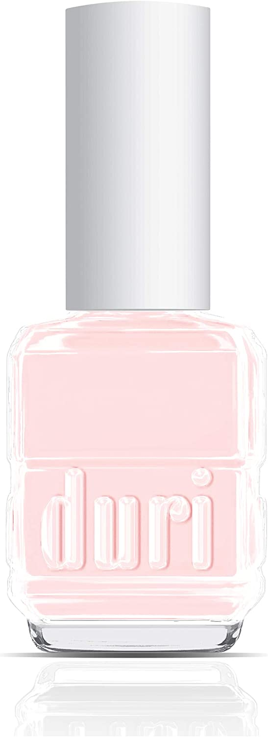 duri Nail Polish, 340 Forever Beautiful, Pale Pink, Sheer Coverage, French Manicure Finish, 0.5 fl.oz. 15 ml.