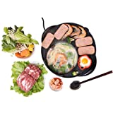 LIVEN Electric Shabu Shabu Hot Pot with BBQ, Cast