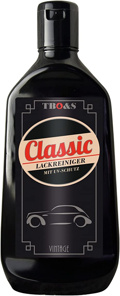 Tbo S Classic Lackreiniger 250 Ml Für Oldtimer Und Youngtimer Reinigungs Und Poliermittelemulsion Pflegemittel Auto