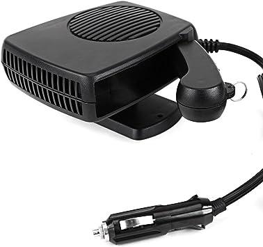 descongelador de viento natural r/ápido port/átil 2IN1 de la calefacci/ón de coche 2IN1 con tres salidas Calentador del coche
