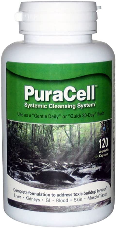 World Nutrition PuraCell Detox Cleanse Supplement 120 Count