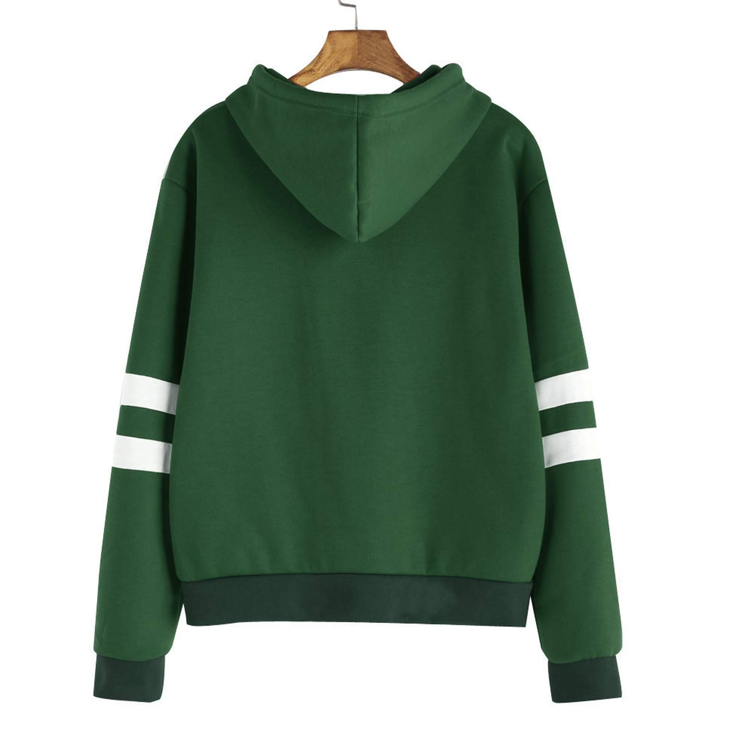 Sweatshirt Womens Long Sleeve Hoodie Sweatshirt Jumper Hooded Pullover Tops Maglione di Moda#LSJ, Red, XL, China at Amazon Womens Clothing store: