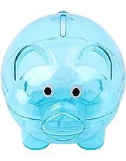 HENGSONG Candy Color Coin Money Saving piggy bank Blue