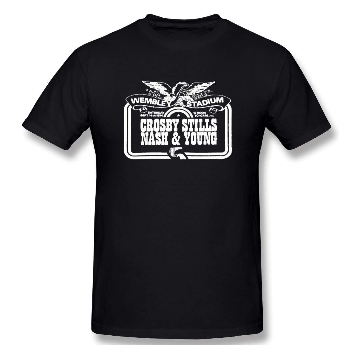 Crosby Stills Nash Classic Tshirts Black