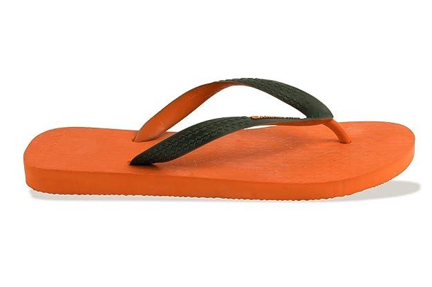 Chanclas Amazonas Colores de la Diversión de Naranja y de Color ...