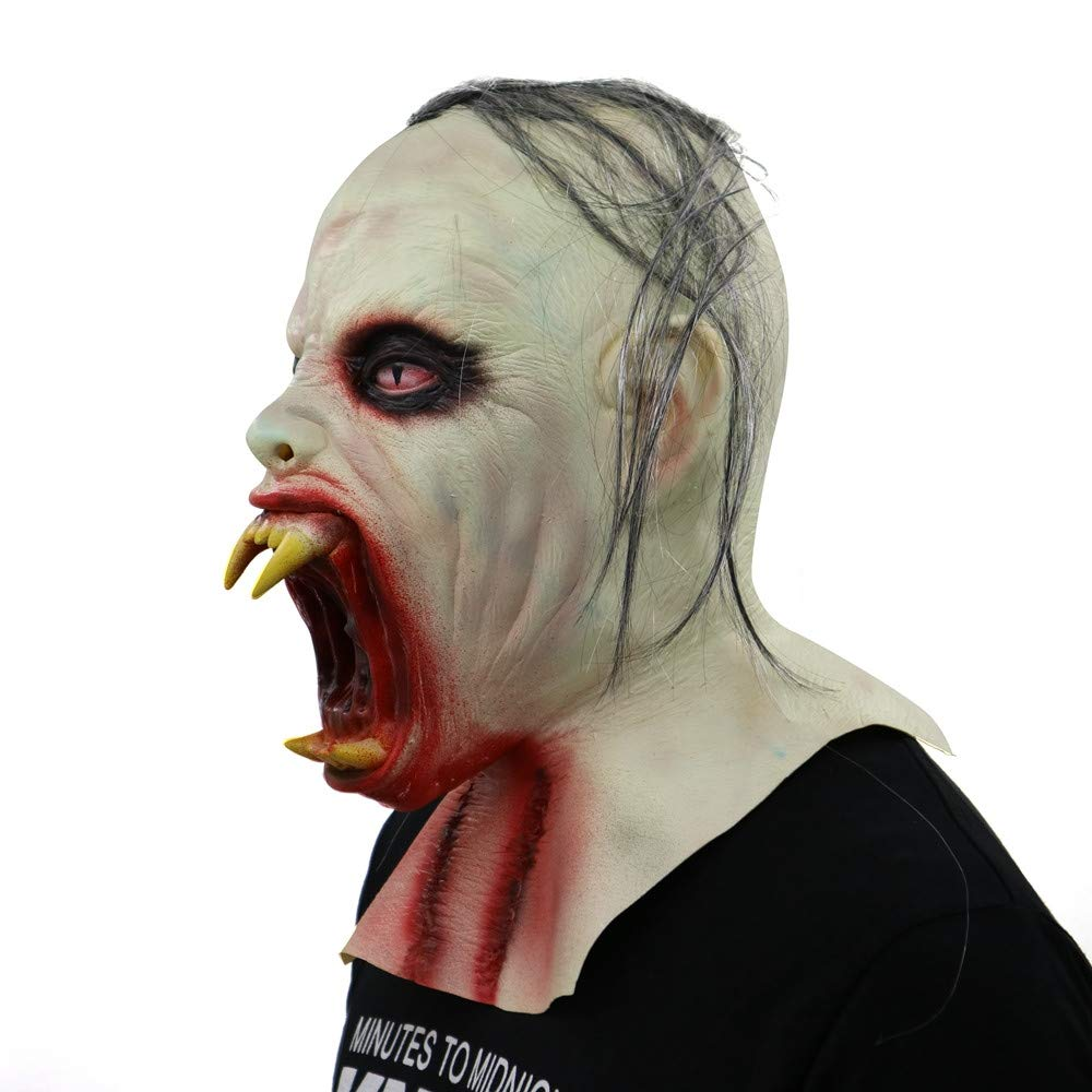 CSSD Scary Zombie Latex Mask Cosplay Helmet Halloween Costume Party Props Masks