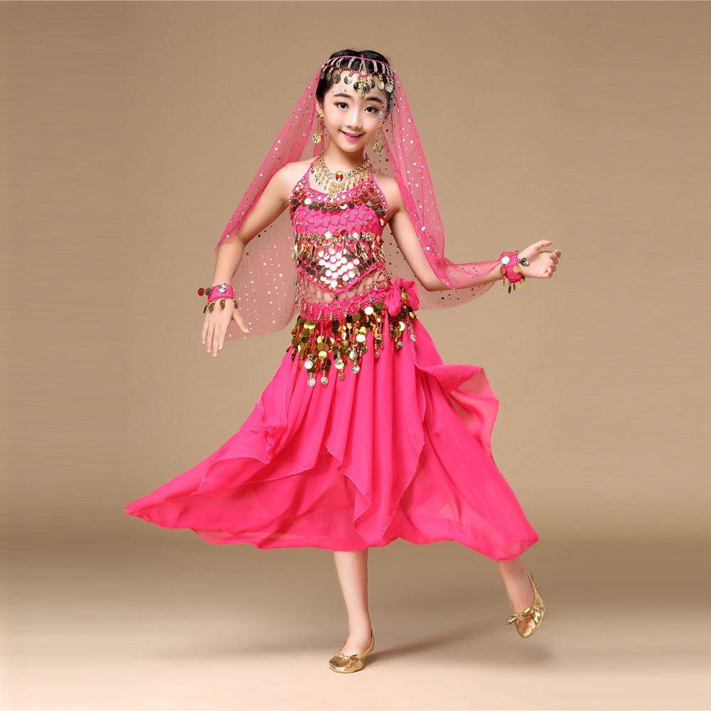 PAOLIAN RAGAZZE Danza del Ventre Carnevale Costumi di Danza Gonna per Bambini