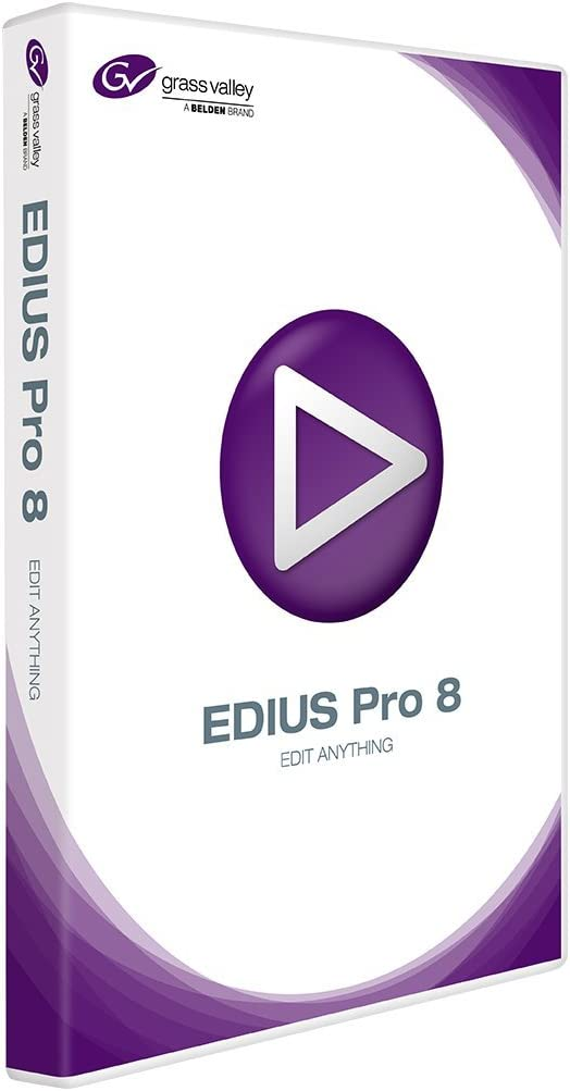 Amazon Com Grass Valley Edius Pro 8 Nonlinear Editing Software Standard Boxed Dvd Software