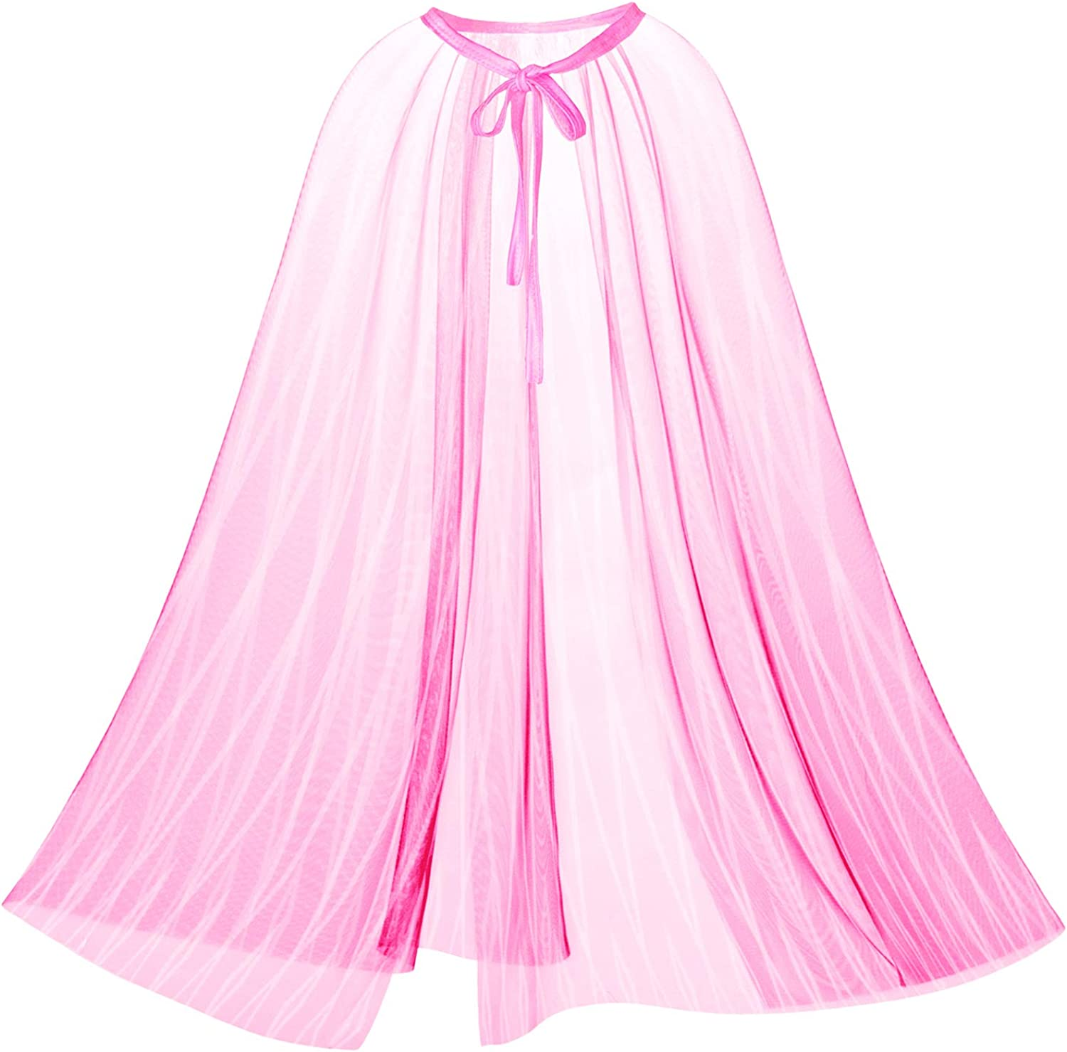 Princess Cape Cloaks for Little Girls Birthday Party,Halloween Costume Dress Up