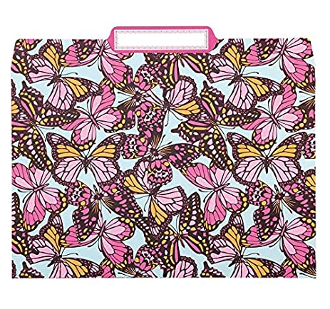 anna griffin flutterby kisses decorative file folders set of 12 by maude asbury