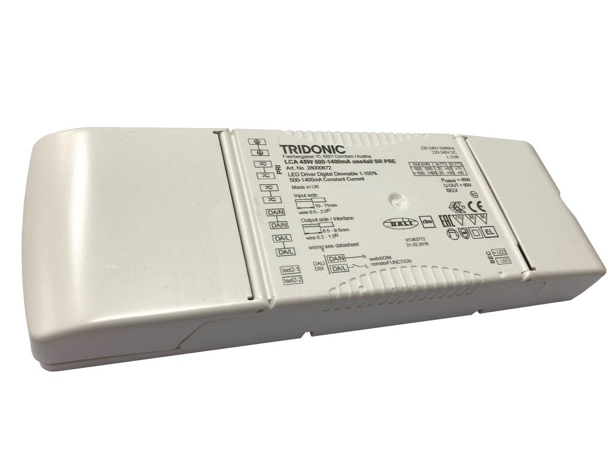 Tridonic LCA 45W 500-1400mA one4all SR PRE 28000672