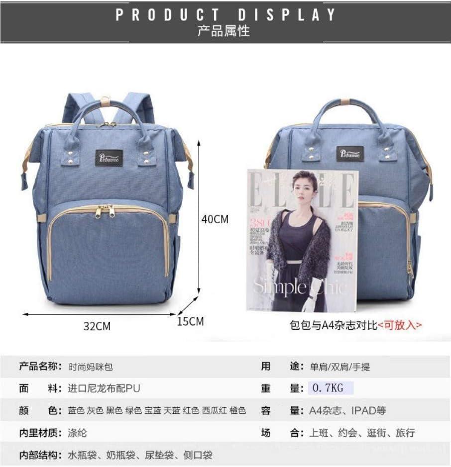 ZLK backpack Backpack multi-function Mummy bag large capacity waterproof maternal bag fashion backpack