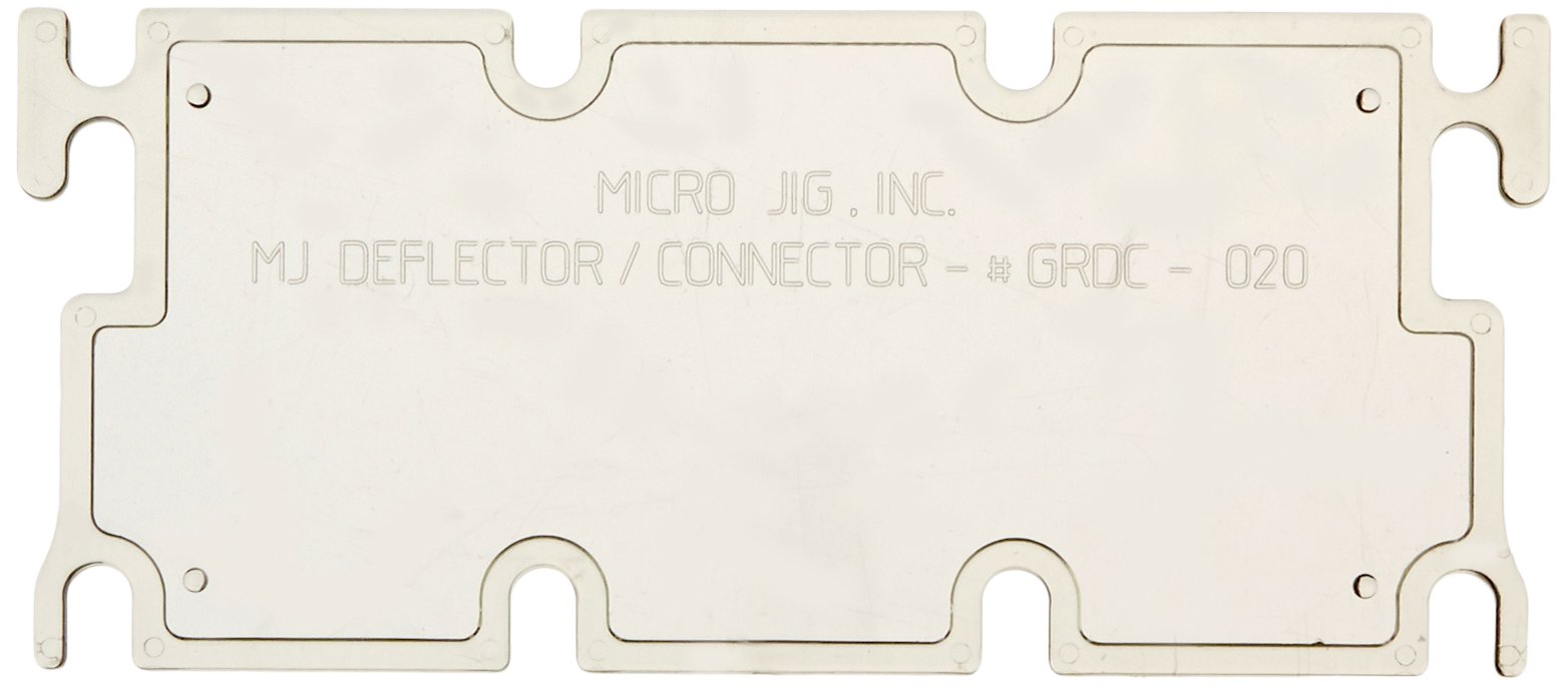 MICROJIG Deflector/Connector for GRR-RIPPER and GRR-RIP BLOCK Pushblocks