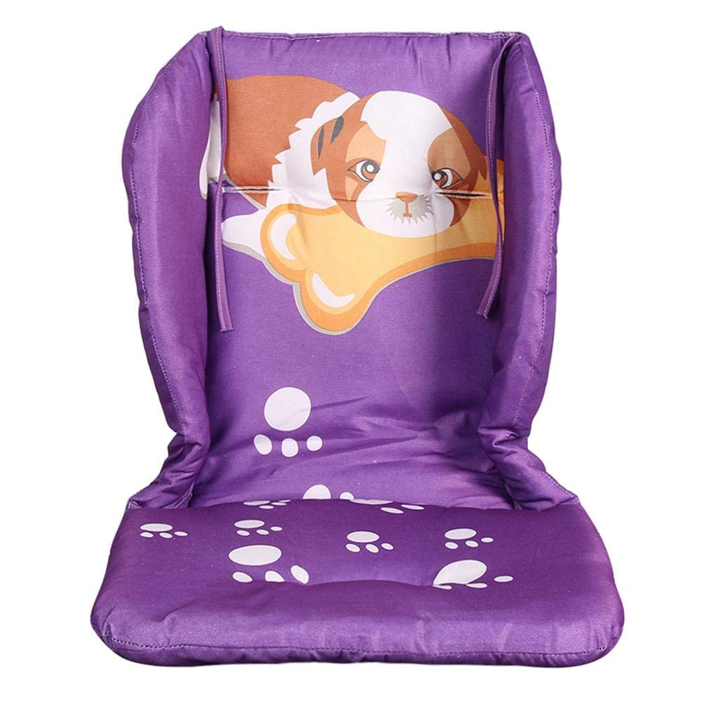 Amazingdeal Baby Stroller Seat Cushion Thickened Cute Dog Print Cotton Mats (Purple) by Amazingdeal