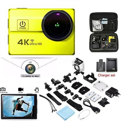 Amazon com : NEW Q5H Action Camera Ultra HD 4K/30FPS 1080P