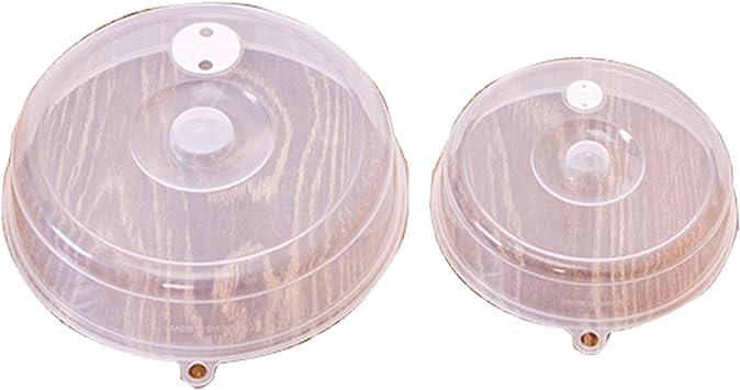 Cubierta para plato de microondas Hover (2 unidades) con tapa para ...
