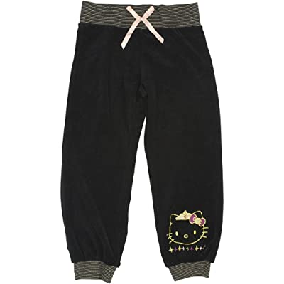 Hello Kitty Little Girls' Jogger Pants 6X Black