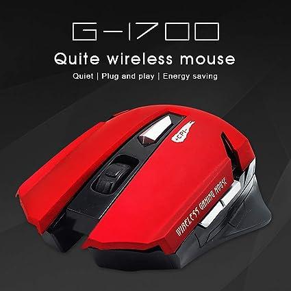Adjustable DPI Wireless Mouse Ergonomic Power Saving 6 Buttons