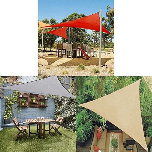 ZHhome Sombra Techo Rectangular Sombrilla Toldo Sombreado Patio Jardín Al Aire Libre Cochera Piscina Pergola Gris 8x10ft (Color : Gray): Amazon.es: Deportes y aire libre